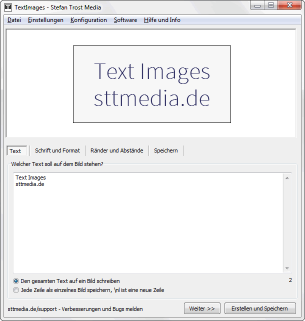 TextImages - Text - Screenshot